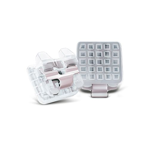 Bráquete Cerâmico Autoligado Iceram SLB Roth 022 Dente 22 - Orthometric