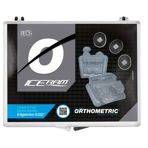 Bráquete Cerâmico Iceram Edgewise 022 - Orthometric