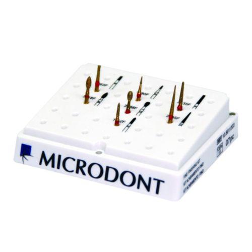 Kit de Pontas Diamantadas Para Acabamento Fino - Microdont