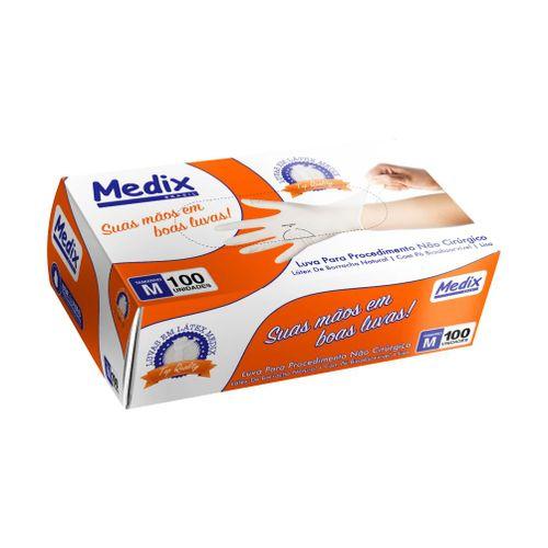 Luva de Látex para Procedimento  - Medix
